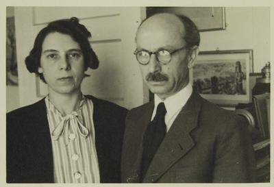 Lola und Gustav Wolf in New York